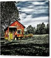 A Ruskin Shed Canvas Print