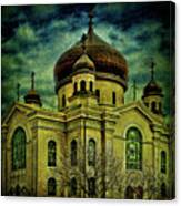 A Russian In Brooklyn Canvas Print