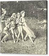 A Scarecrow Canvas Print