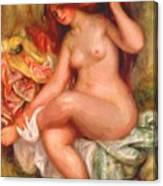 A Seating Bather 1906 Canvas Print