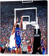 A Shot To Remember - 2008 National Champions Canvas Print