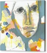 A Shrewd Woman Canvas Print
