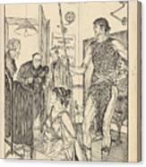 A Sixth Figure  Canvas Print
