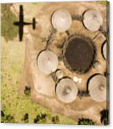 A Small Boma And Family Compound Canvas Print