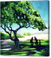 A Spot Of Sun Canvas Print