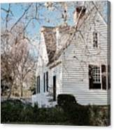 A Spring Day In Colonial Williamsburg Canvas Print