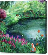 A Spring Day In The Garden Canvas Print