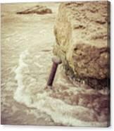 A Stake In The Beach Canvas Print
