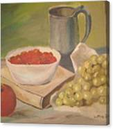 A Still Life Canvas Print