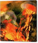 A Sting Like Fire Canvas Print