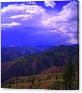 A Storm Coming In  Canvas Print