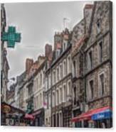 A Street In Boulogne Canvas Print