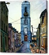 A Street In Cork. Canvas Print
