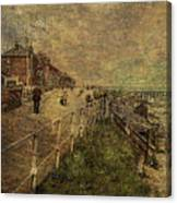 A Stroll Along The Seafront Canvas Print