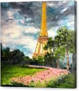 A Strong Tower Canvas Print