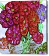 A Summer Bouquet Canvas Print