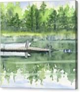 A Summer Pond Canvas Print