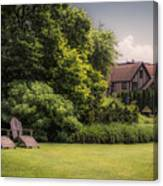 A Summer Sitting Place Canvas Print