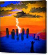 A Summoning Canvas Print
