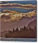 A Sunny Day On The Kachemak Bay Canvas Print