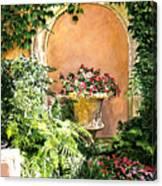 A Sunny Nook Hotel Bel - Air Canvas Print