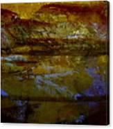 A Sunset Glow Canvas Print