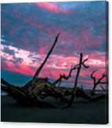 A Sunset On Jekyll Canvas Print