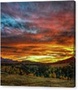 A Sunset To Remember Canvas Print