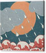 A Sunshine  Rain - Shower Canvas Print