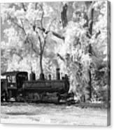 A Surreal Train Ride Canvas Print