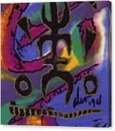 A Symbol Of Life Canvas Print