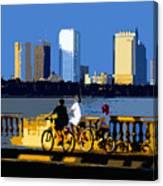 A Tampa Bay Florida Summer Canvas Print