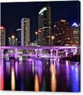 A Tampa Night Canvas Print