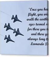A Taste Of Flight Canvas Print