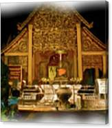 A Temple Night 1 Canvas Print