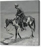 A Texas Pony Canvas Print