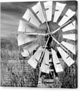A Texas Windmill Canvas Print