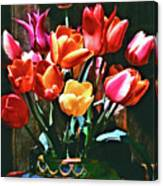 A Time For Tulips Canvas Print