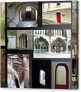A Tour Of Doors Canvas Print