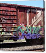 A Train Car Named Desire Canvas Print