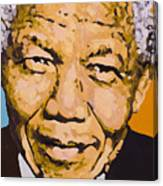 A True Leader With Dignity Personified Canvas Print
