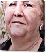 A True Woman Canvas Print