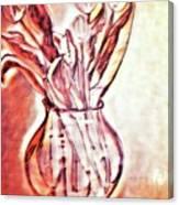 A Tulip Bouquet Canvas Print