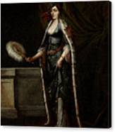 A Turkish Lady Canvas Print