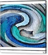 A Turquoise Wind Canvas Print