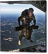 A U.s. Air Force Combat Controller Canvas Print