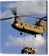 A U.s. Army Ch-47 Chinook Helicopter Canvas Print