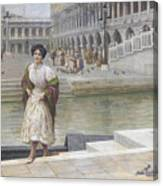 A Venetian Beauty Canvas Print