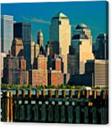 A View From Hoboken Canvas Print