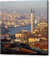 A View From Istanbul Canvas Print